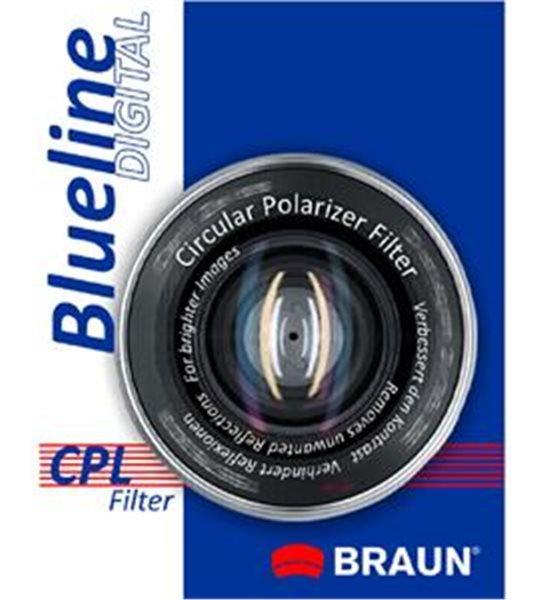 BRAUN filtr polarizační cirkulární 67 mm