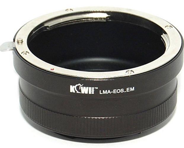KIWI adaptér objektivu Canon EF na tělo Sony E (bez unašeče)