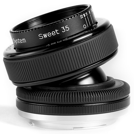 LENSBABY Composer Pro Sweet 35 - velká sada pro Nikon