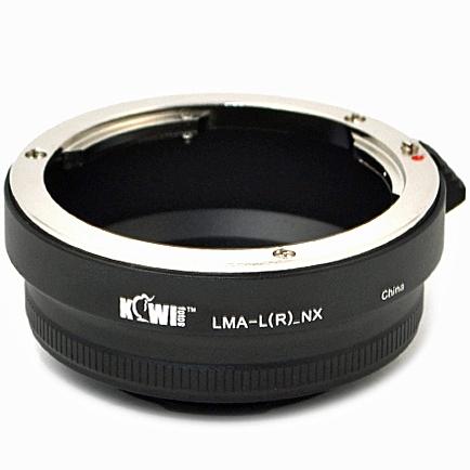 KIWI adaptér objektivu Leica R na tělo Samsung NX