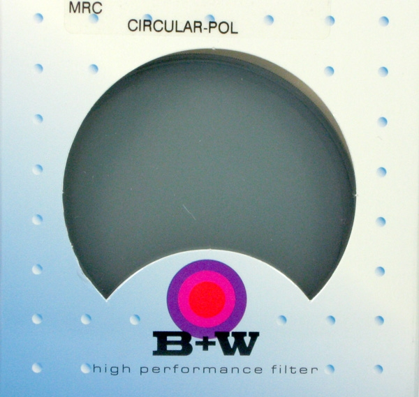 B+W filtr Polarizační cirkulární F-Pro MRC 37 mm