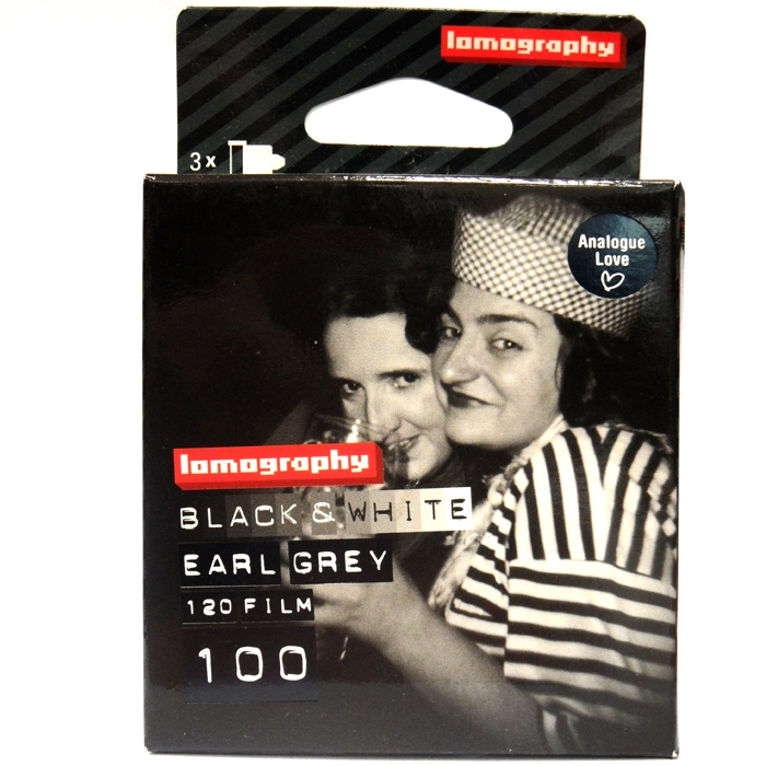 LOMOGRAPHY film ČB 100/120 3 pack -Earl Grey