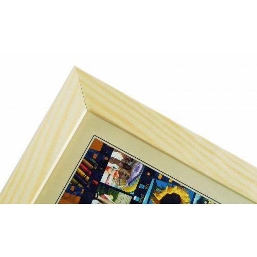 CODEX SLS rám 18x24 dřevo, přírodní 002