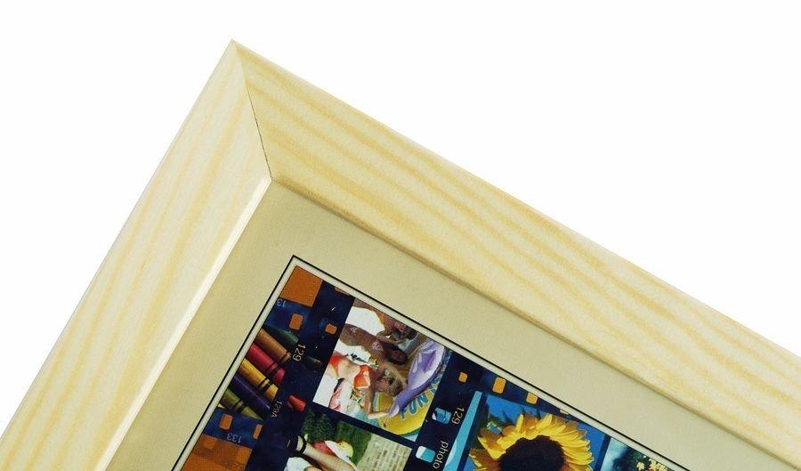 CODEX SLS rám 30x45 dřevo, přírodní 002