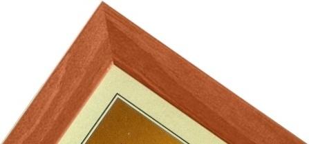 CODEX SLS rám 30x45 dřevo, světle hnědá 001