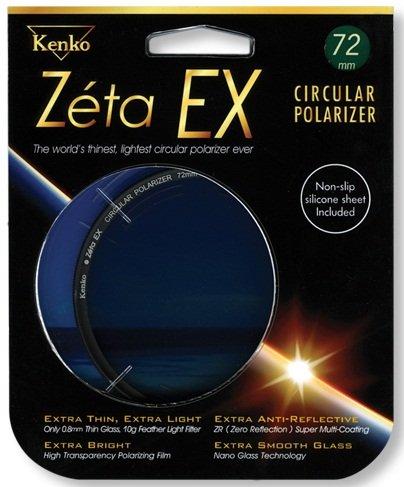 KENKO filtr polarizační cirkulární Zéta EX 72 mm
