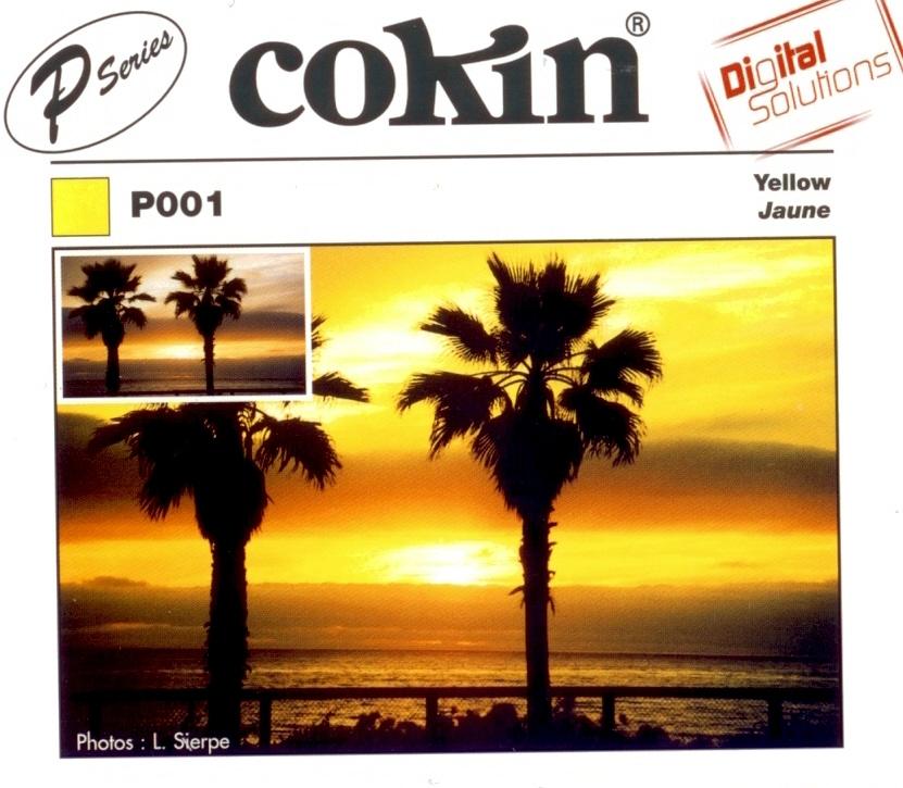 COKIN filtr P001 žlutý