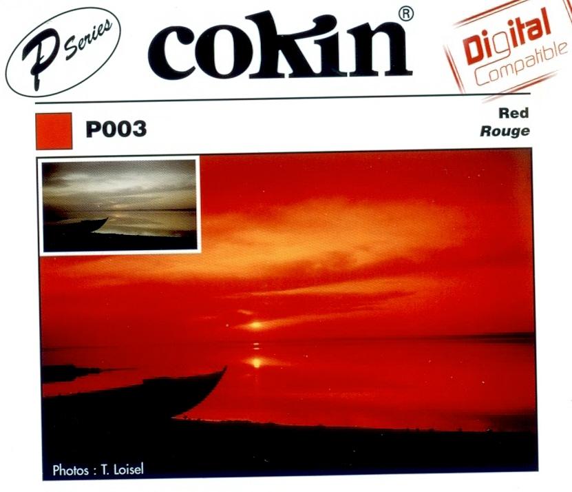 COKIN filtr P003 červený