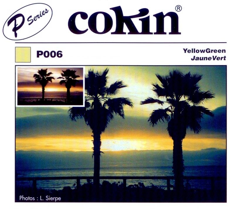 COKIN filtr P006 žluto-zelený