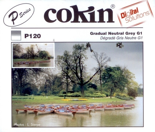 COKIN filtr P120 graduál šedý G1