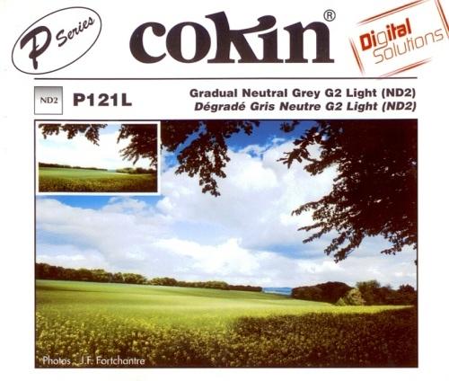 COKIN filtr P121L graduál šedý light