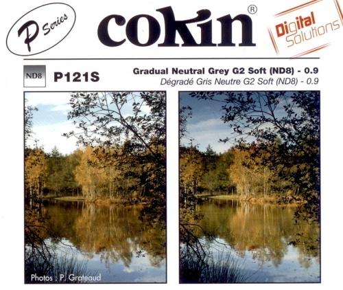 COKIN filtr P121S graduál šedý soft