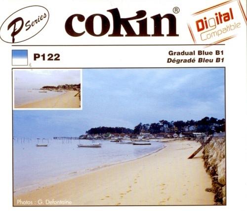 COKIN filtr P122 graduál modrý B1