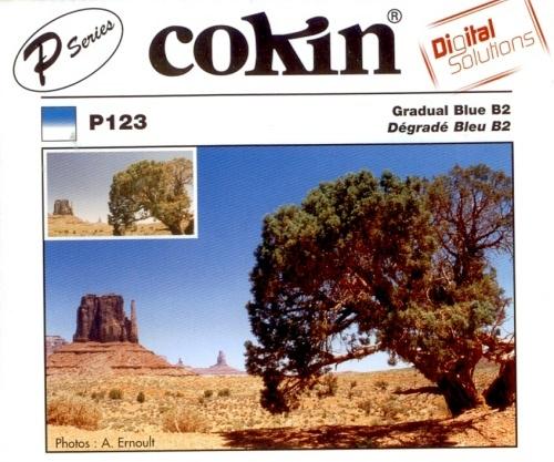 COKIN filtr P123 graduál modrý B2