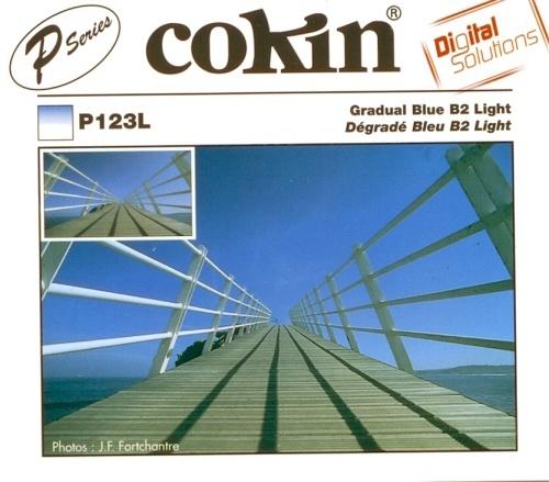 COKIN filtr P123L graduál modrý B2 Light