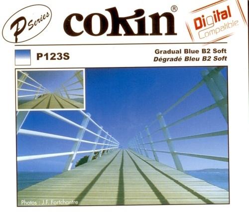 COKIN filtr P123S graduál modrý B2 Soft