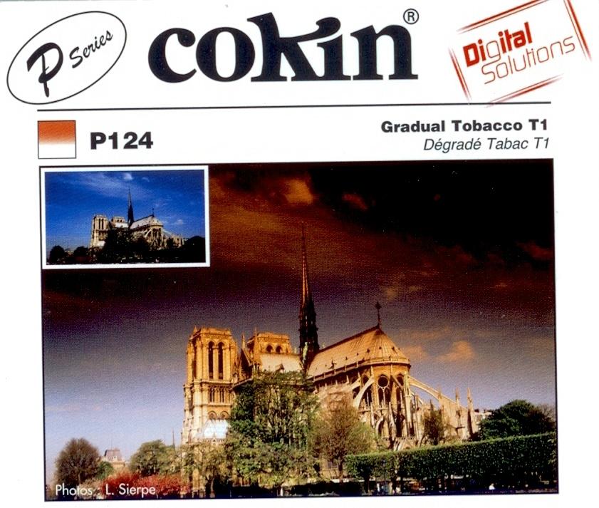 COKIN filtr P124 graduál tabák T1