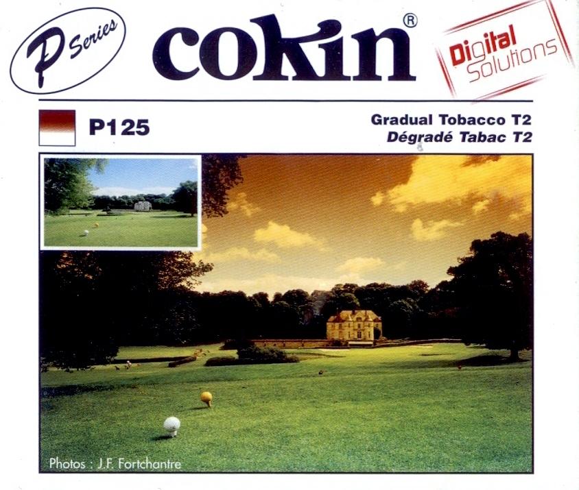COKIN filtr P125 graduál tabák T2