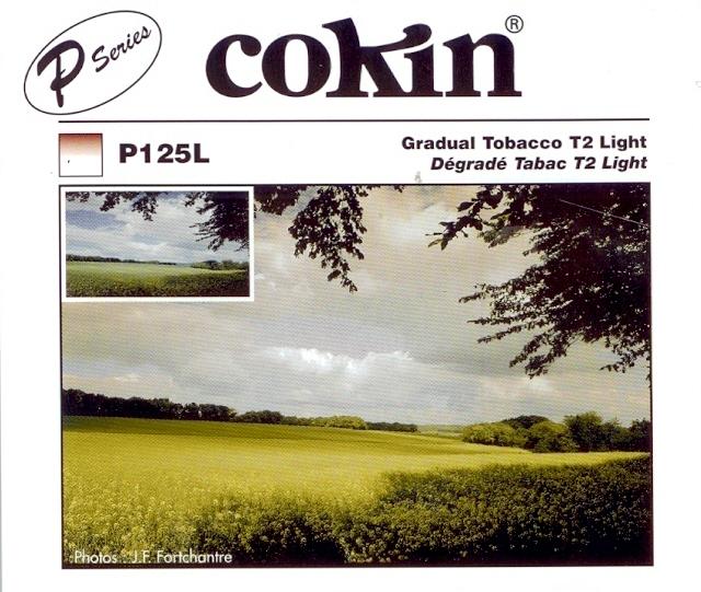 COKIN filtr P125L graduál tabák light