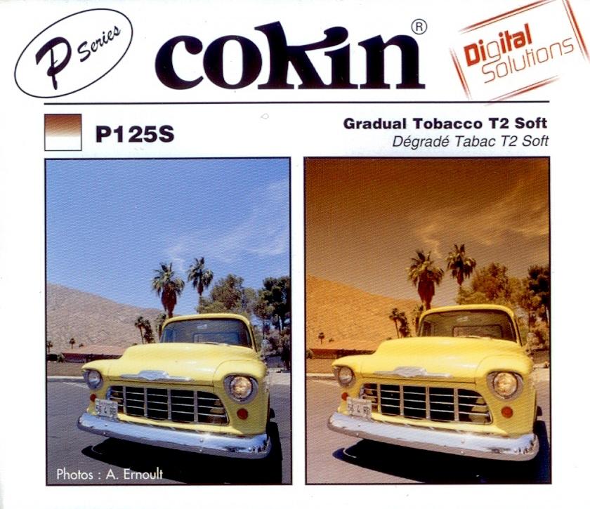 COKIN filtr P125S graduál tabák soft