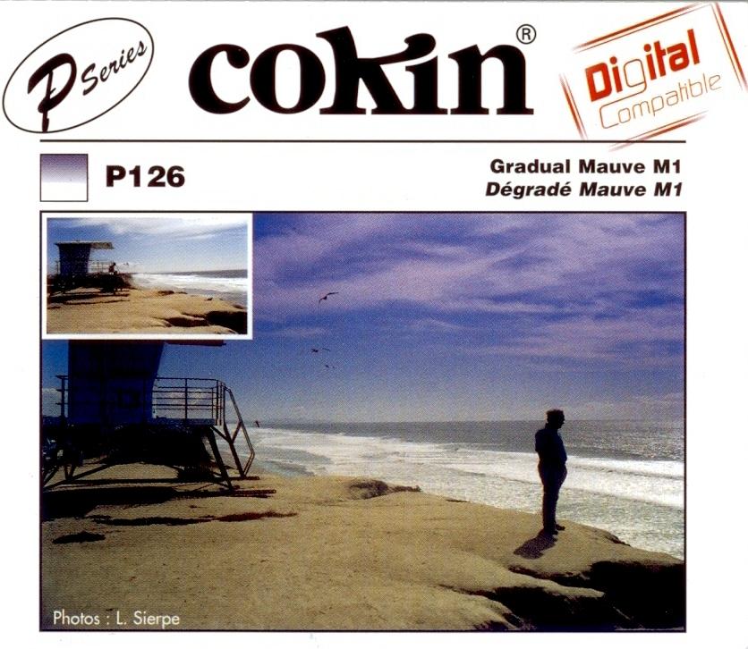 COKIN filtr P126 graduál mauve M1