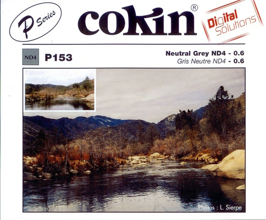 COKIN filtr P153 šedý ND4