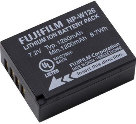FUJIFILM NP-W126S akumulátor pro X-Pro2, X-T2/20, X-E3/M1/A3, HS50, X100F