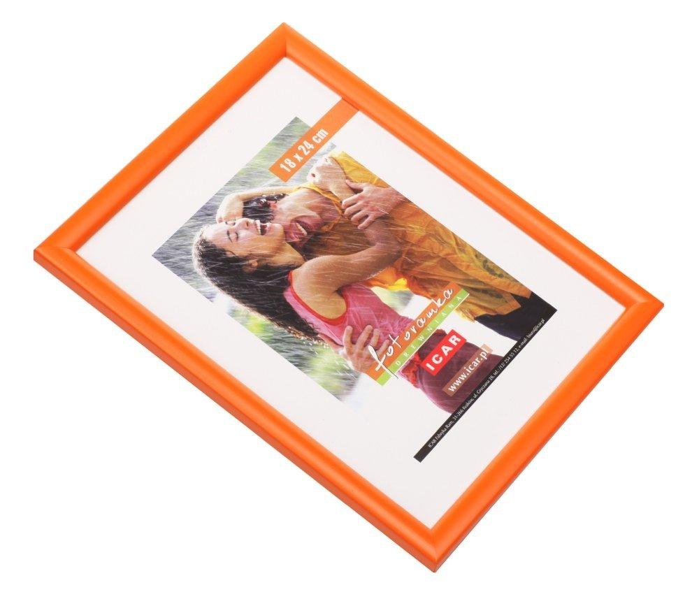CODEX DRWH rám 13x18 dřevo, oranžová