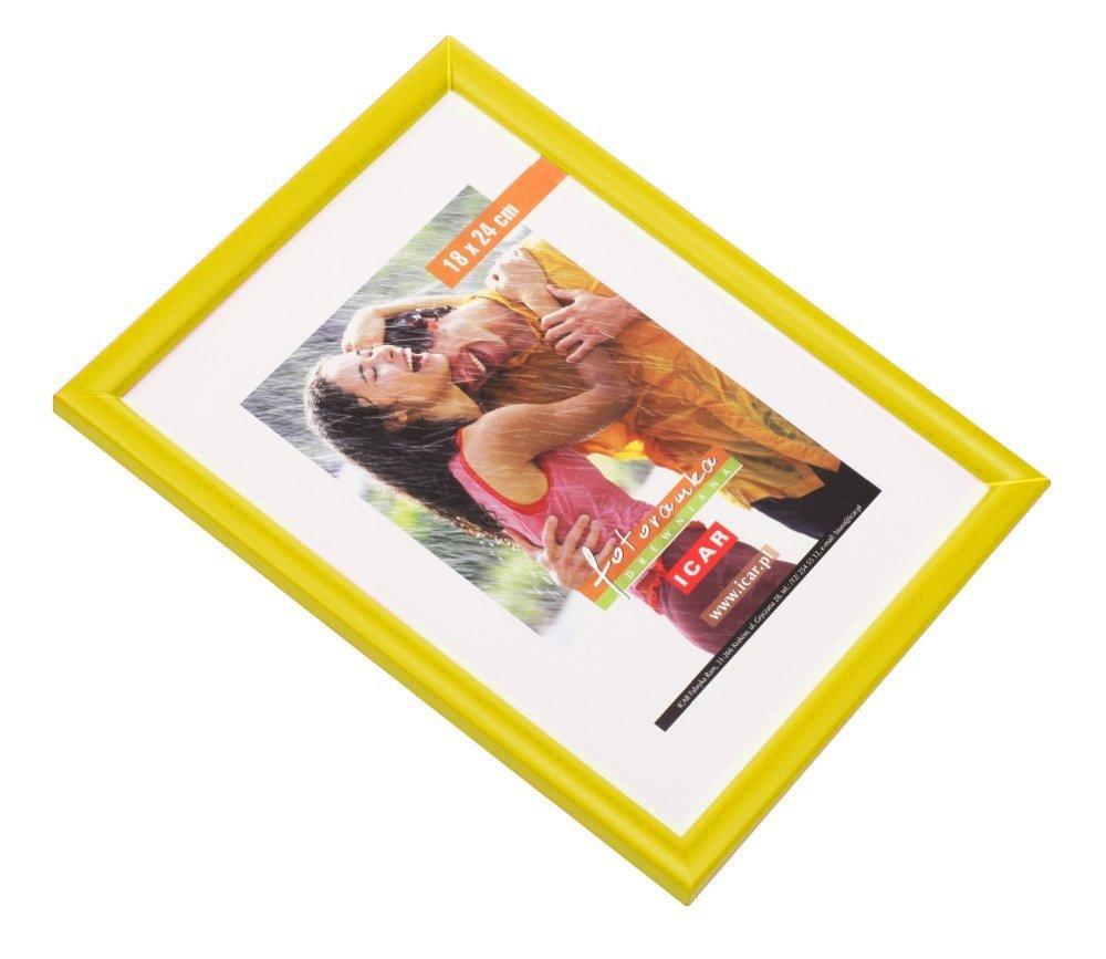 CODEX DRWH rám 20x30 dřevo, žlutá