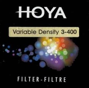 HOYA filtr ND Variabilní 3-400 62 mm