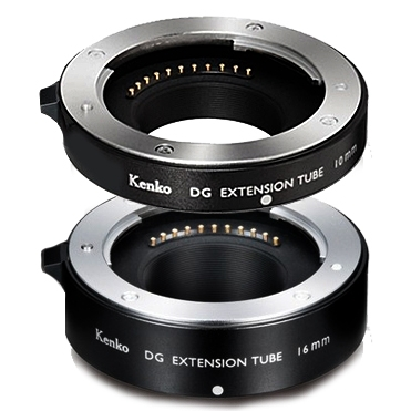 KENKO Mezikroužky set 10/16 mm pro Olympus/Panasonic MFT