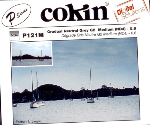 COKIN filtr P121M graduál šedý medium