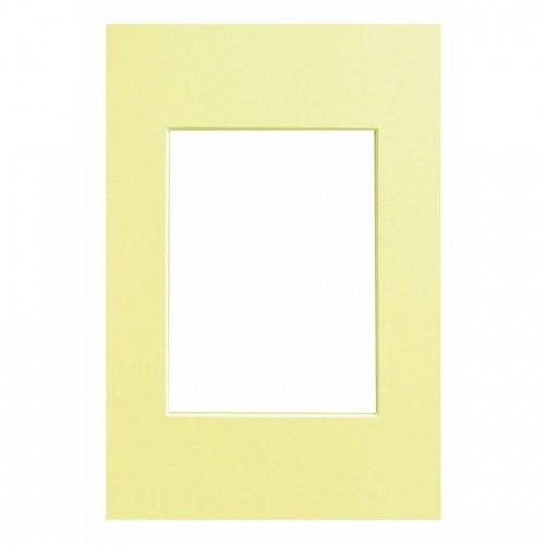 WALTHER - pasparta 13x18/9x13 světle žlutá