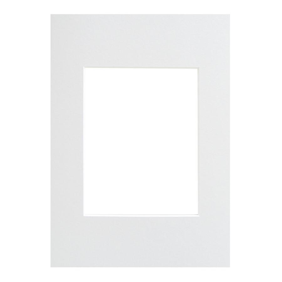 WALTHER - pasparta 13x18/9x13 bílá