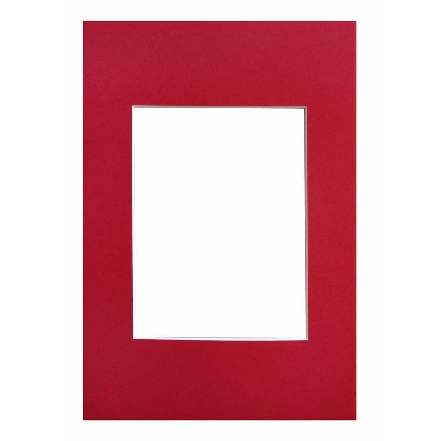WALTHER - pasparta 15x20/10x15 červená