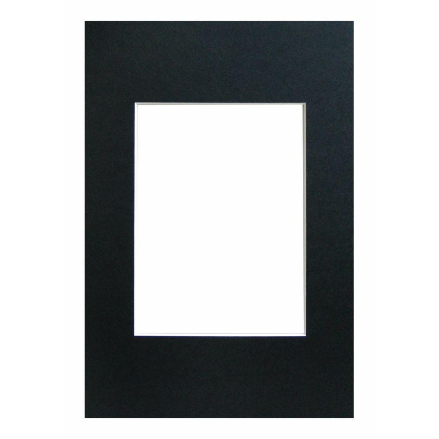 WALTHER - pasparta 20x30/13x18 černá