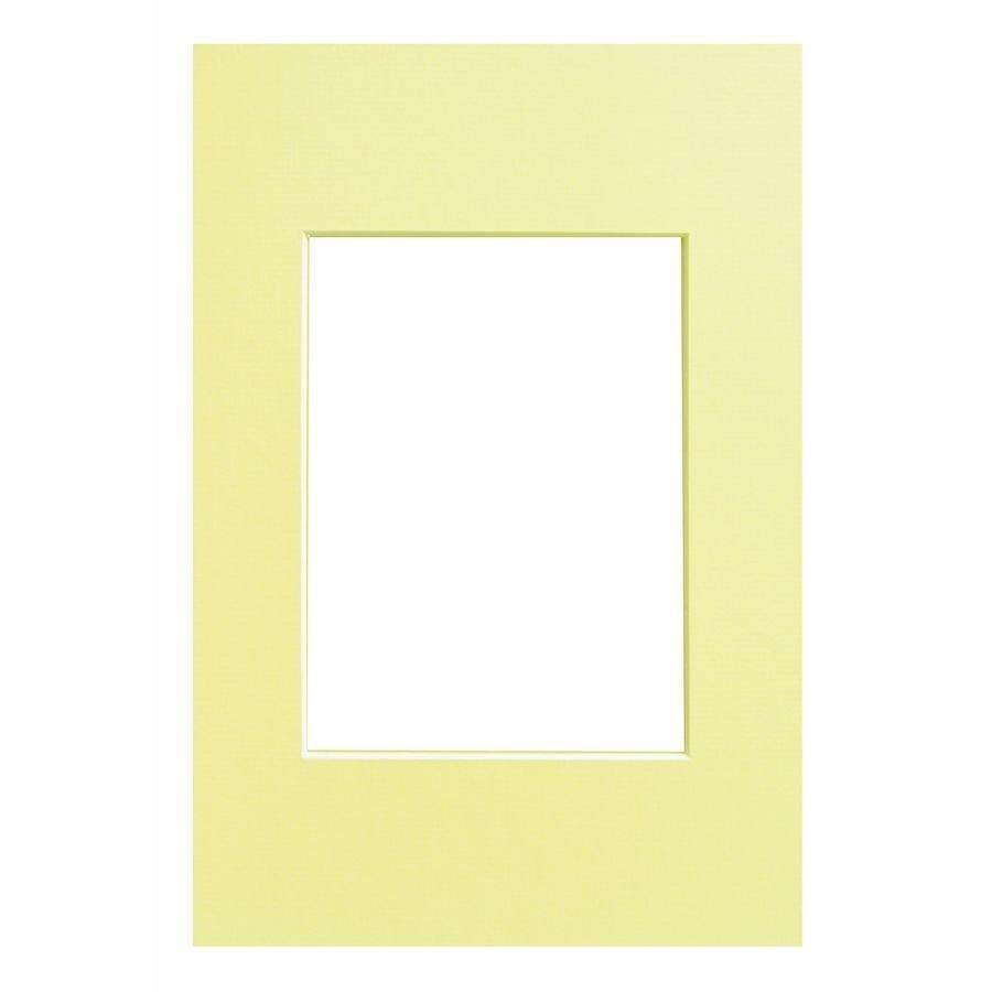 WALTHER - pasparta 40x60/30x45 světle žlutá