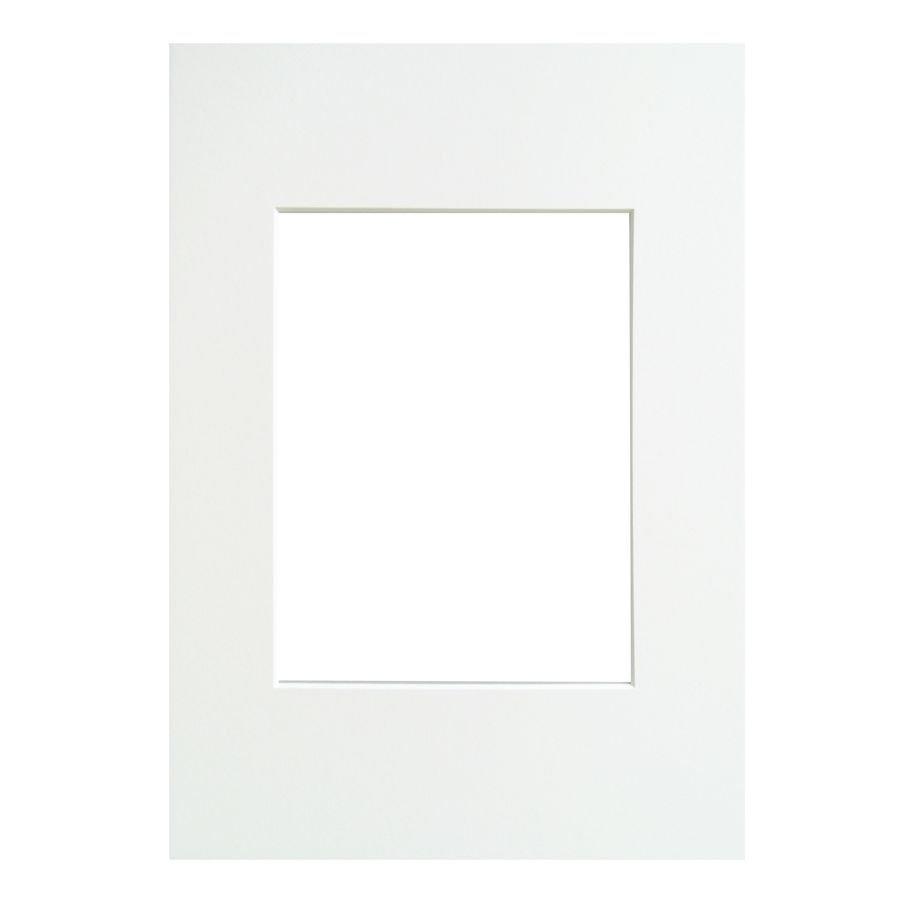 WALTHER - pasparta 40x60/30x45 polární bílá