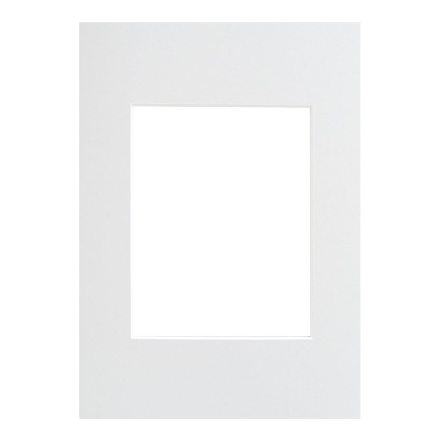 WALTHER - pasparta 40x60/30x45 bílá
