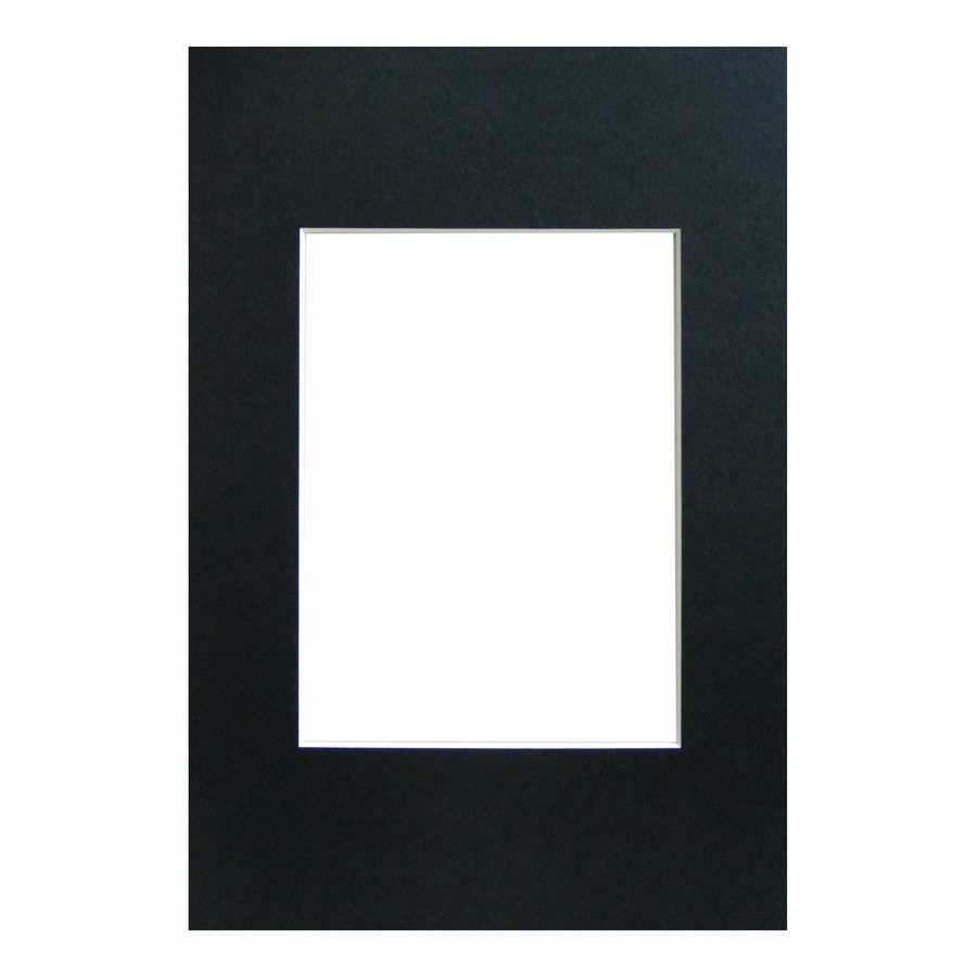 WALTHER - pasparta 50x70/40x50 černá