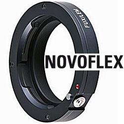 NOVOFLEX Adaptér FUX/CAN objektiv Canon FD na tělo Fujifilm X