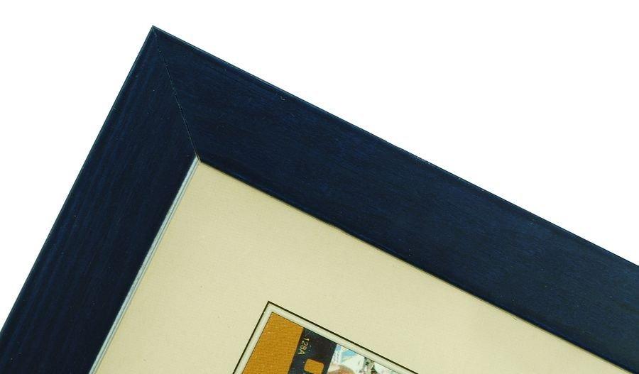 CODEX SLS rám 10x15 dřevo, modrá