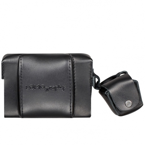 LOMOGRAPHY Fisheye Leather Case - Black