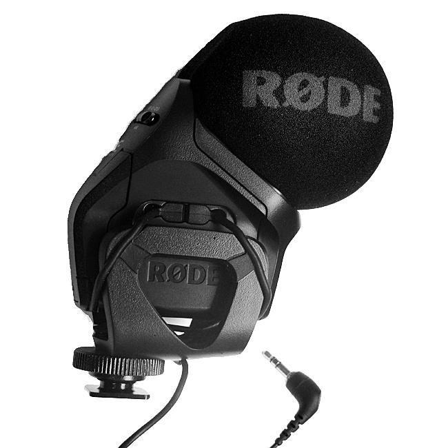 RODE Stereo Video Mic PRO Rycote kompaktní stereo mikrofon
