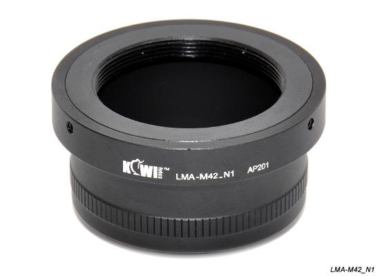 KIWI adaptér objektivu M42 na tělo Nikon 1