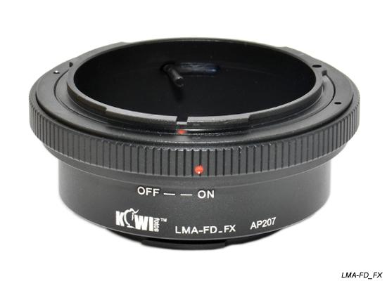 KIWI adaptér objektivu Canon FD na tělo Fujifilm X