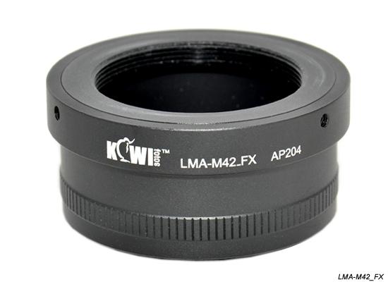 KIWI adaptér objektivu M42 na tělo Fujifilm X