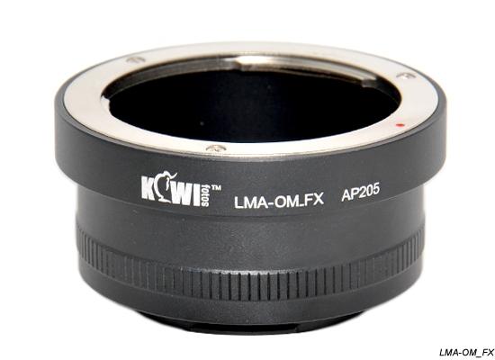 KIWI adaptér objektivu Olympus OM na tělo Fujifilm X