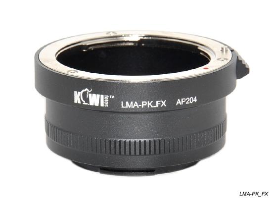 KIWI adaptér objektivu Pentax K na tělo Fujifilm X