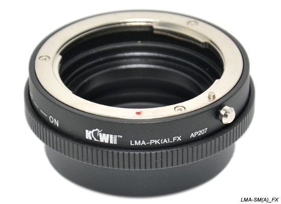 KIWI adaptér objektivu Pentax K(A) na tělo Fujifilm X